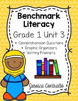 Benchmark Literacy First Grade Comprehension Worksheets Unit 3