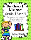Benchmark Literacy First Grade Comprehension Worksheets Unit 4