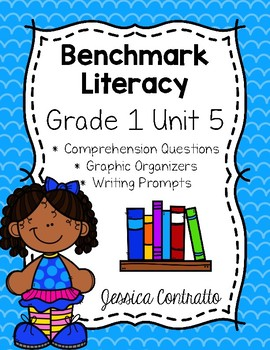Benchmark Literacy First Grade Comprehension Worksheets Unit 5