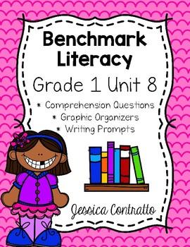 Benchmark Literacy First Grade Comprehension Worksheets Unit 8