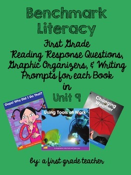 Benchmark Literacy First Grade Comprehension Worksheets Unit 9