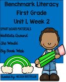 Benchmark Literacy First Grade Unit 1, Week 2