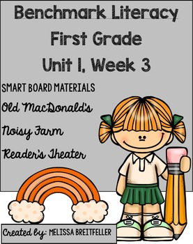 Benchmark Literacy First Grade Unit 1, Week 3