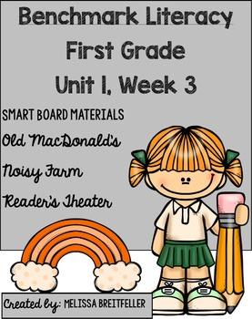 Benchmark Literacy First Grade Unit 1, Week 3