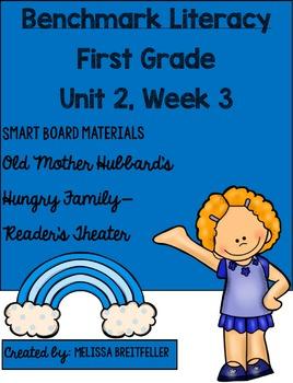 Benchmark Literacy First Grade Unit 2, Week 3