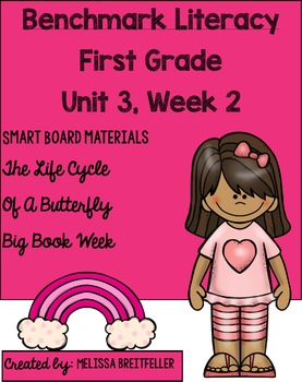 Benchmark Literacy First Grade Unit 3, Week 2