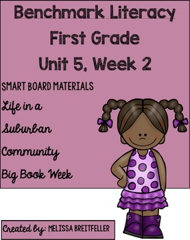 Benchmark Literacy First Grade Unit 5, Week 2