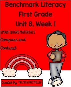 Benchmark Literacy First Grade Unit 8, Week 1