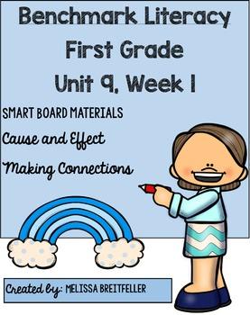 Benchmark Literacy First Grade Unit 9, Week 1