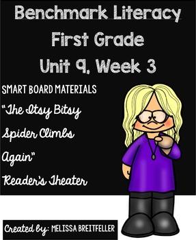 Benchmark Literacy First Grade Unit 9, Week 3