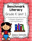 Benchmark Literacy Kindergarten Comprehension Worksheets Unit 1