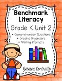 Benchmark Literacy Kindergarten Comprehension Worksheets Unit 2