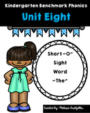 Benchmark Literacy Kindergarten Phonics Unit 8