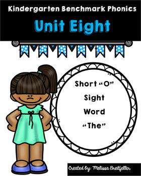 Benchmark Literacy Kindergarten Phonics Unit 8