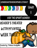 Benchmark Literacy Kindergarten Unit 1 Week 3