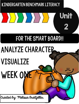 Benchmark Literacy Kindergarten Unit 2 Week 1