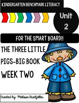 Benchmark Literacy Kindergarten Unit 2 Week 2