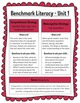 Benchmark Literacy Parent Newsletters for 4th Grade