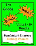"Benchmark Literacy Phonics 1st Grade ""BANG"" game Units 1-1"
