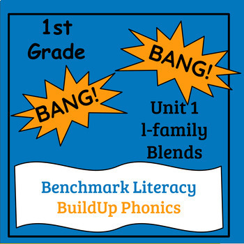 "Benchmark Literacy Phonics 1st Grade Unit 1 ""BANG"" game"