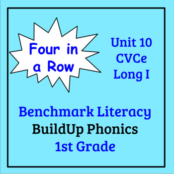 Benchmark Literacy Phonics 1st Grade Unit 10 Four in a Row