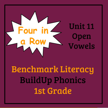 Benchmark Literacy Phonics 1st Grade Unit 11 Four in a Row