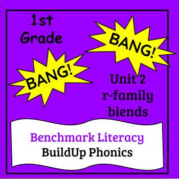 "Benchmark Literacy Phonics 1st Grade Unit 2 ""BANG"" game"