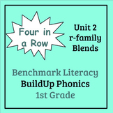 Benchmark Literacy Phonics 1st Grade Unit 2 Four in a Row
