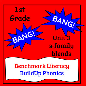 "Benchmark Literacy Phonics 1st Grade Unit 3 ""BANG"" game"