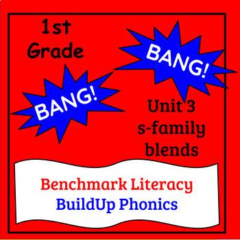 "Benchmark Literacy Phonics 1st Grade Unit 3 ""BANG"" game"