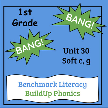 "Benchmark Literacy Phonics 1st Grade Unit 30 ""BANG"" game"