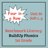 Benchmark Literacy Phonics 1st Grade Unit 30 Four in a Row