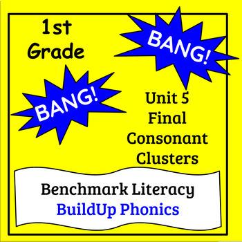 "Benchmark Literacy Phonics 1st Grade Unit 5 ""BANG"" game"