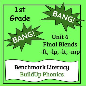 "Benchmark Literacy Phonics 1st Grade Unit 6 ""BANG"" game"