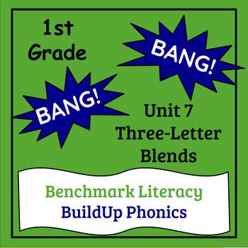 "Benchmark Literacy Phonics 1st Grade Unit 7 ""BANG"" game"