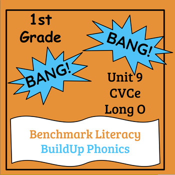 "Benchmark Literacy Phonics 1st Grade Unit 9 ""BANG"" game"
