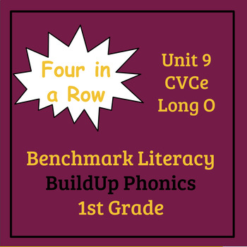 Benchmark Literacy Phonics 1st Grade Unit 9 Four in a Row