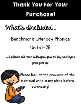 Benchmark Literacy Phonics Bundle