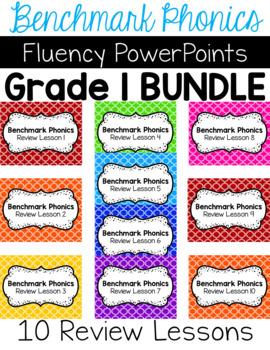 Benchmark Literacy Phonics Fluency Bundle