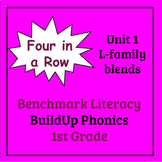 Benchmark Literacy Phonics 1st Grade Unit 1 Four in a Row