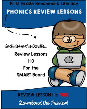 Benchmark Literacy Phonics Review Bundle