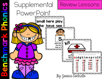 Benchmark Literacy Phonics Review Lessons