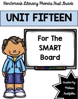 Benchmark Literacy Phonics Unit 15