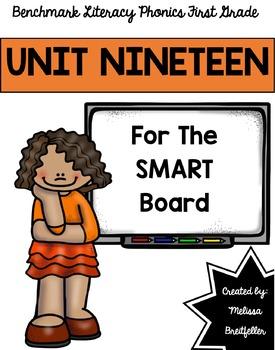 Benchmark Literacy Phonics Unit 19