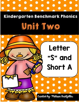 Benchmark Literacy Phonics Unit 2 Kindergarten