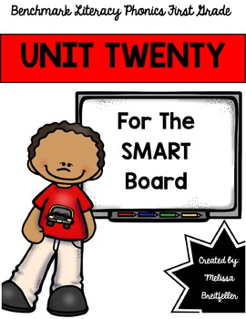 Benchmark Literacy Phonics Unit 20