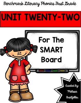 Benchmark Literacy Phonics Unit 22
