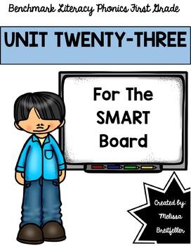 Benchmark Literacy Phonics Unit 23