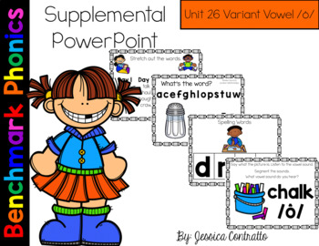 Benchmark Literacy Phonics Unit 26