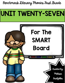 Benchmark Literacy Phonics Unit 27